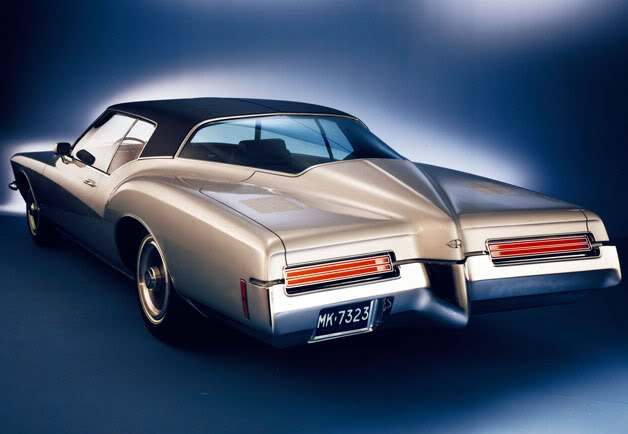 Cars In My Heart 71 Buick Riviera Boattail Sketches