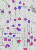 Live DC bikeshare map