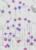 Live DC bikeshare map