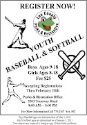 2011 Youth Baseball & Softball. Please review flyer below for information on .