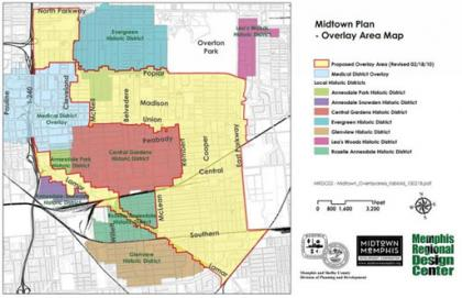 Tennessee Zoning Land Use Memphis Midtown Zoning Plan