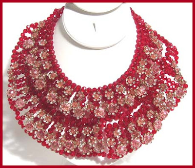 Unique Fashion Jewelry on The Neck  Make A Strong Fashion Statement In Vintage Costume Jewelry