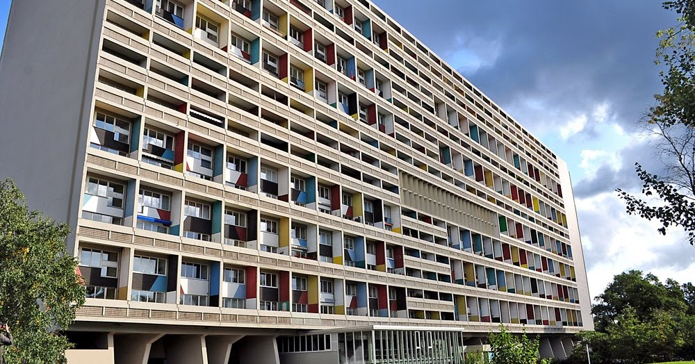 mi moleskine arquitect nico le corbusier unit d 39 habitation de berl n. Black Bedroom Furniture Sets. Home Design Ideas