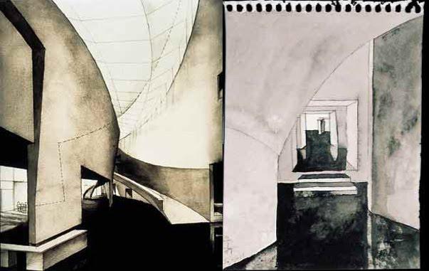 Mi Moleskine Arquitectónico STEVEN HOLL MUSEO KIASMA