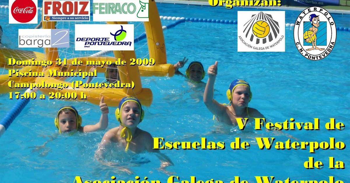 Waterpolo pontevedra blog v festival de escuelas de for Piscina campolongo