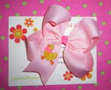 Embroidered Hairbow