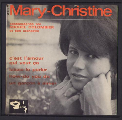 Don't forget Mary-Christine
