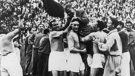 World Cup 1934: Winners Italy. Teams 16. Teams in qualifiers 32