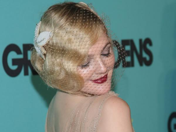 Drew Barrymore ... Modern Flapper Hair