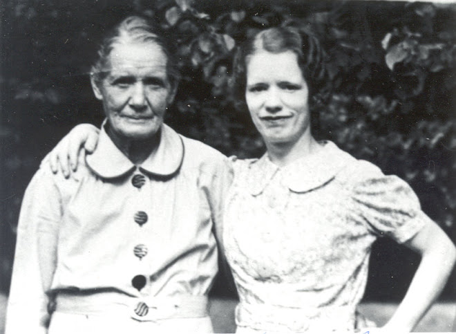 Harriet and her youngest daughter Ruth