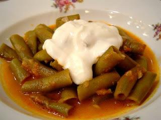 TAZE BAKLA YEMEĞİ ผัดผักถั่วแขก