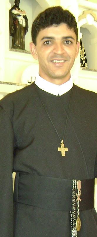 Fr. Jeferson Santos Leite C.Ss.R., natural de Ecoporanga-Espirito Santo