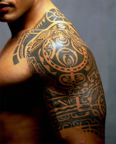 Ancient Japanese Tattoo.