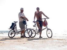 Con Miki en Gokarna, India. Feb 07