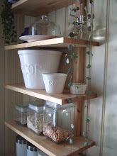 Kjøkkenhylle