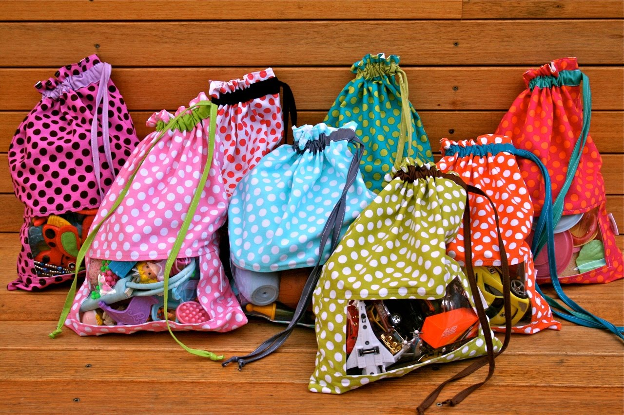 Bag Of Toys : Make it perfect quot peek a boo toy sacks
