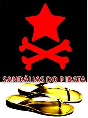 SANDÁLIAS DO PIRATA