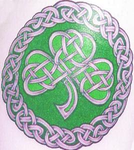 Celtic art body tattoo 2