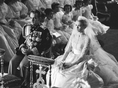 Grace Kelly 1950s Wedding Gown