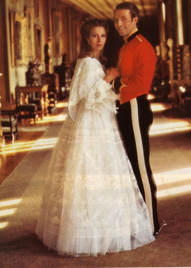 Princess Margaret 1960s Wedding Gown Princess Anne 1970s Wedding Gown