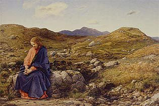 Painter William Dyce painted Jesus in Britain