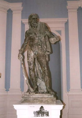 statue of Diogenes by Alexander Stoddart