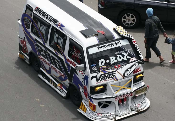 Suzuki Carry Modif