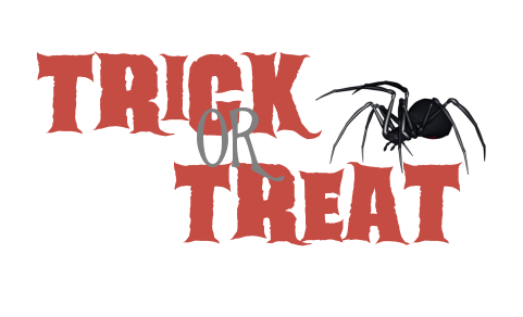 Mythical Designs: Trick or Treat Word Art PU Only