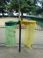image Paris tri selectif dans les parcs