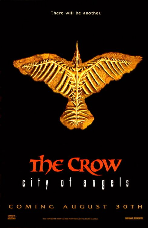The crow city of angels logo - photo#11