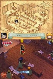 Confira as primeiras imagens do jogo 'Harry Potter LEGO: Anos 1-4' para Nintendo DS