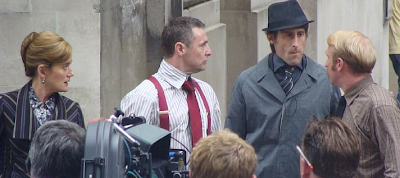 Novas fotos das filmagens de 'Harry Potter e as Relíquias da Morte' no Whitehall
