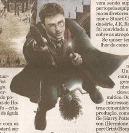 Jornal 'O Estado de S. Paulo' publica matéria sobre parque de 'Harry Potter'