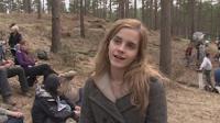 Novas fotos das gravações e entrevistas de Harry Potter e as Relíquias da Morte' foram divulgadas