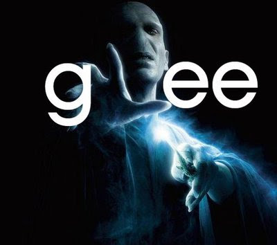 Fotos do Colin #1: Voldemort adora a série Glee