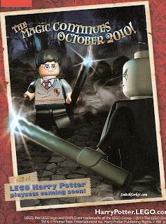 Datas definidas para lançamento de novos cenários e jogo Lego 'Hogwarts'