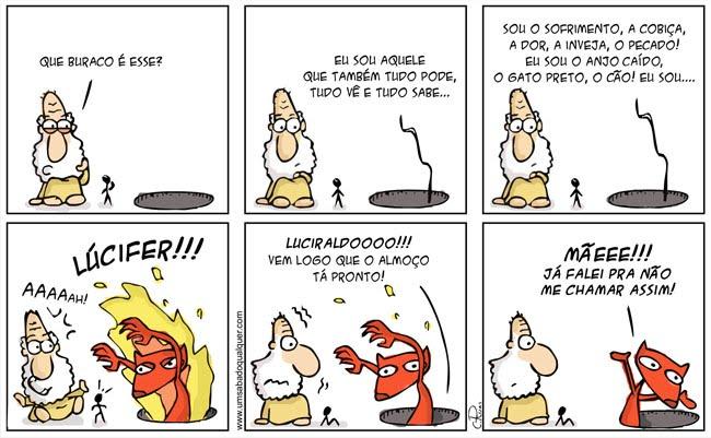 Tirinhas da Luna #23: 'Luciraldo' | Ordem da Fênix Brasileira