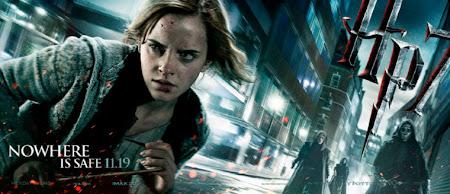 Confira banner de Hermione em 'Relíquias da Morte: Parte 1' | Ordem da Fênix Brasileira