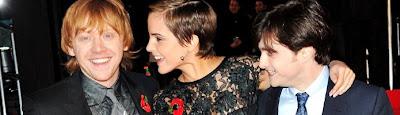 Trio protagonista da série entre os jovens atores mais ricos do Reino Unido   Ordem da Fênix Brasileira