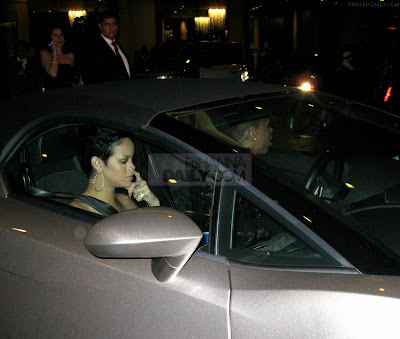 Exclusive Photo: Rihanna Crying In Chris' Lambo Before The Assault