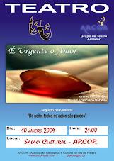 Grupo de Teatro da ARCOR estreia hoje a peça de Luís F. Rebelo
