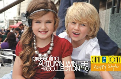 Indian Fashion Trends: Gini and Jony launched it's 2010 Autumn-Winter Collection for Kids