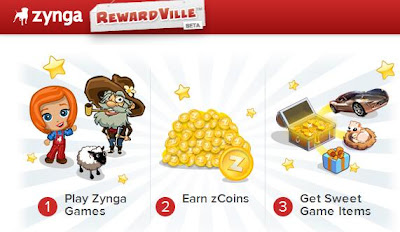 zynga cityville: zynga's new rewardVille screenshot