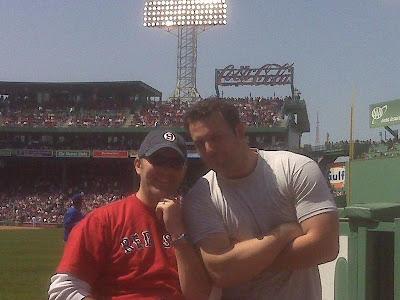 Ben @ the Sox game 4-21-08