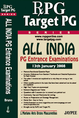 RxPG TargetPG All India 2008 - Dr.Bruno - Jaypee