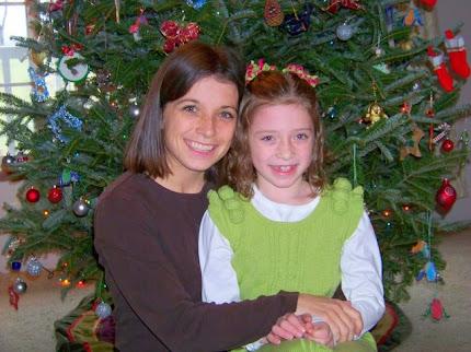 Nicola & Eden Christmas 2010