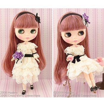 Blythe forever veronica lace blythe doll for Blythe le jardin