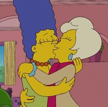 Here S Marge Lost In The Throes Of A Lesbian Fantasy As Spotted