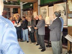 Presentación de la Muestra del Artista Rosarino FRANCISCO PELLÓ Y HERNANDIS