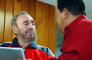 Fidel Castro & Hugo Chávez